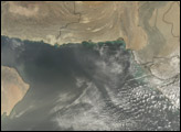 Dust over the Arabian Sea