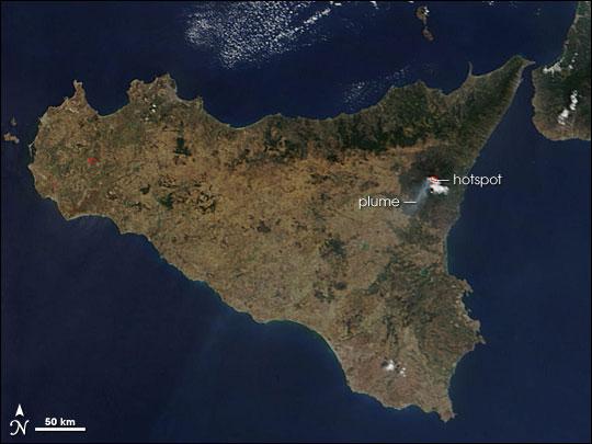 Sicily's Mount Etna