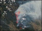Fires in Northern Washington