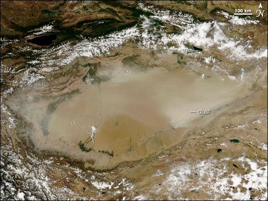 Taklimakan Dust Storm