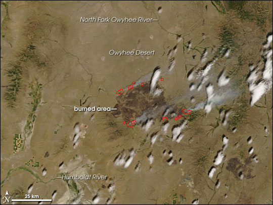 Fires in the Western United States