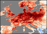 Heat Wave in Western Europe