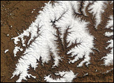 Snow in Lesotho and South Africa