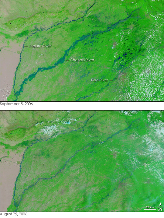 Floods in Pakistan and India