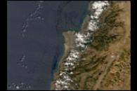 Oil Spill Along the Lebanese Coast