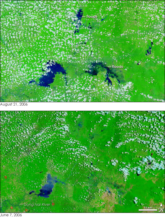 Monsoon Rains Flood Vietnam