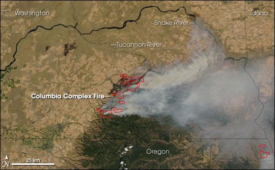 Columbia Complex Fire