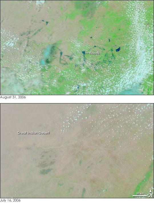 Floods in Northwestern India