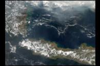 Fires on Borneo and Sumatra