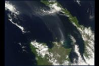 Eruption from Rabaul Volcano