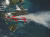 Fires on Cape Barren Island