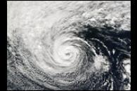 Subtropical Storm off the Coast of Oregon