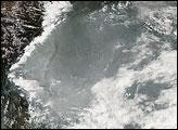 Haze over Southern China