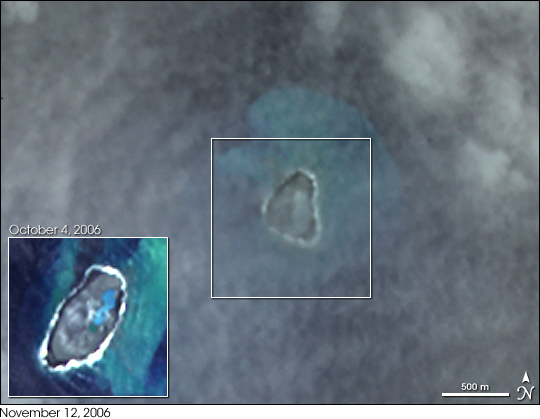 New Island and Pumice Raft, Tonga - related image preview