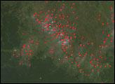 Northern Africa Fire Season