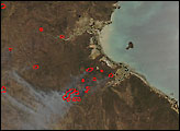 Fires in Northern Territory and Queensland