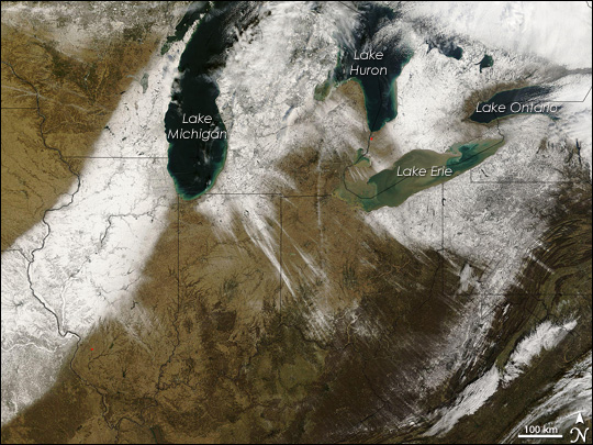 Lake Effect Snow in the United States