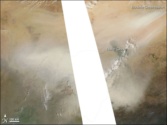 Bodele Depression Dust Storm
