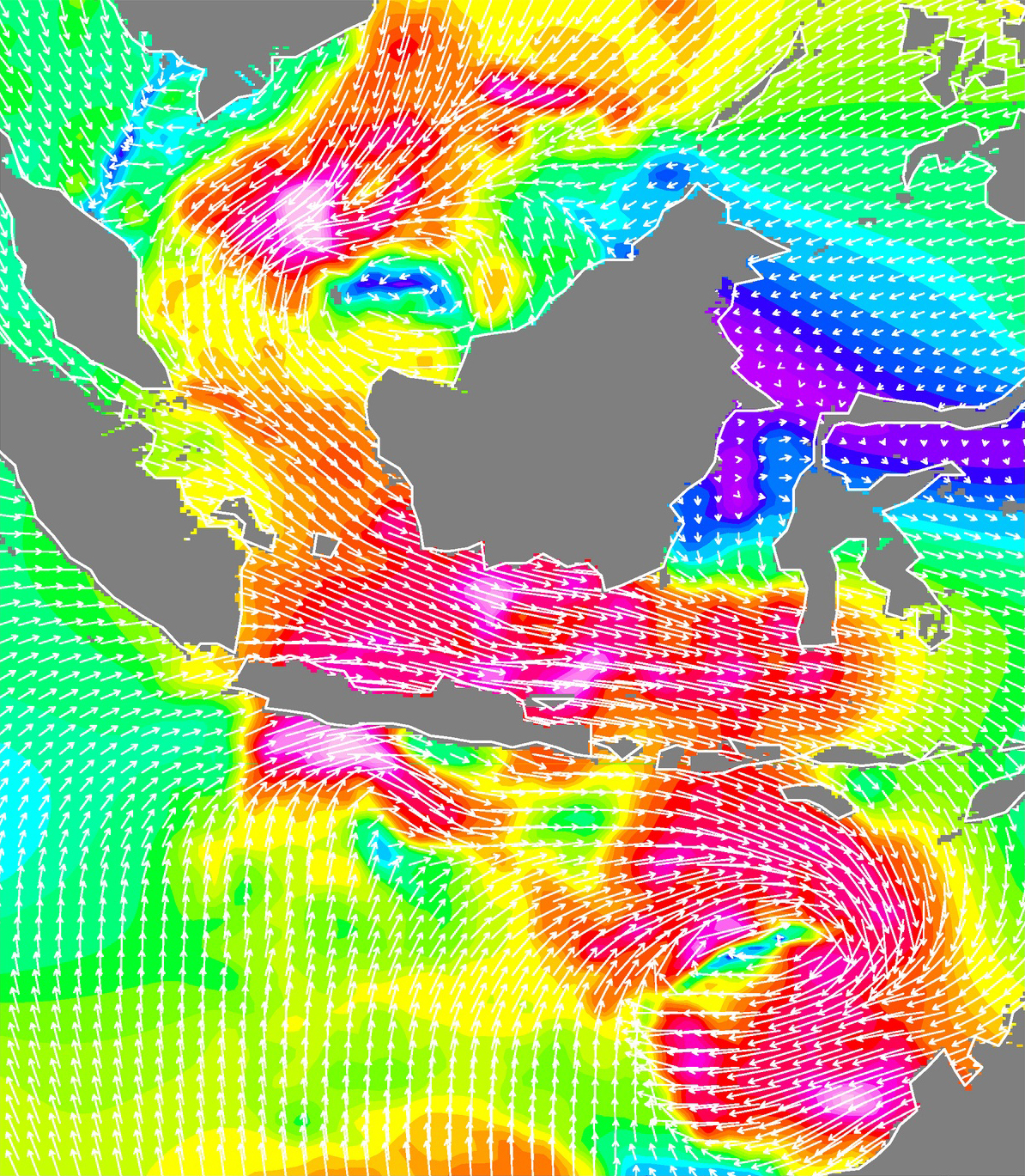Storms in the Java Sea - related image preview