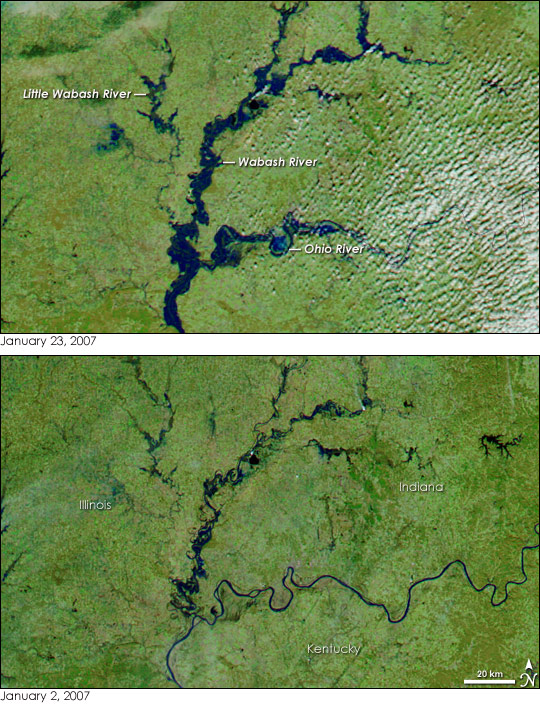 Floods in the Southern and Midwestern United States