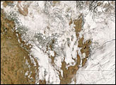 Snow in New Mexico, Arizona, and Northern Mexico