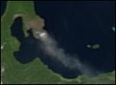 Rabaul Volcano on New Britain