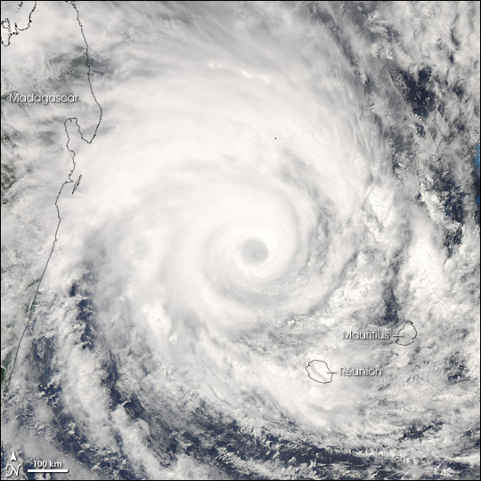 Tropical Cyclone Gamede