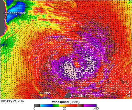Tropical Cyclone Gamede
