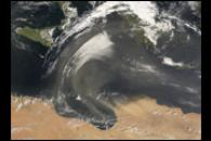 Dust Storm out of Northern Africa