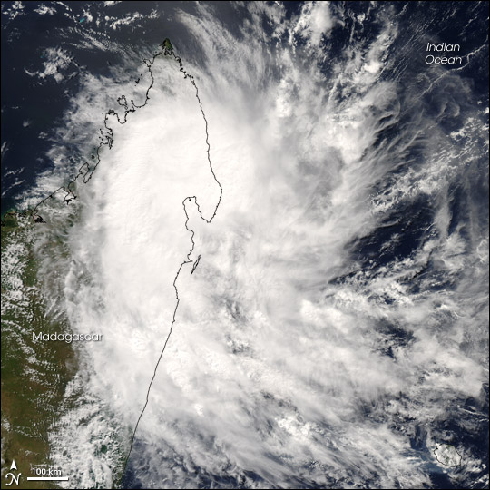 Tropical Cyclone Jaya