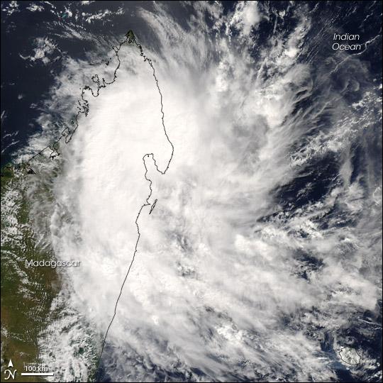 Tropical Cyclone Jaya