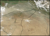 Dust Storm over Syria, Turkey, and Iraq