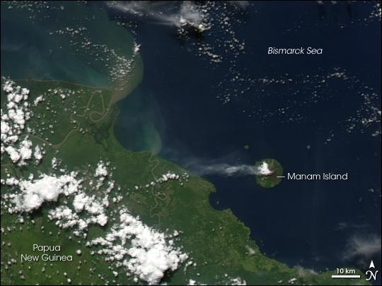 Volcanic Activity on Manam