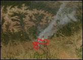 Neola North Fire, Utah