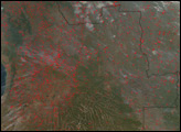 Fires in Angola