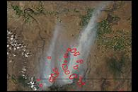 Fires in Idaho and Eastern Oregon