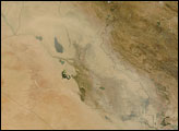 Dust Plume Over Iraq and Iran