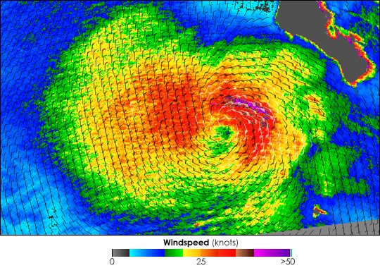Tropical Storm Dalila - related image preview