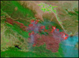 Zaca Wildfire, Southern California - selected image
