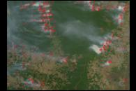 Fires and Deforestation in the Amazon