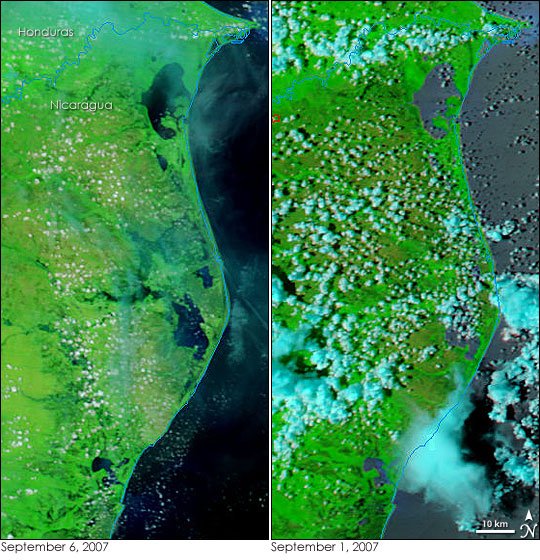 Floods in Central America