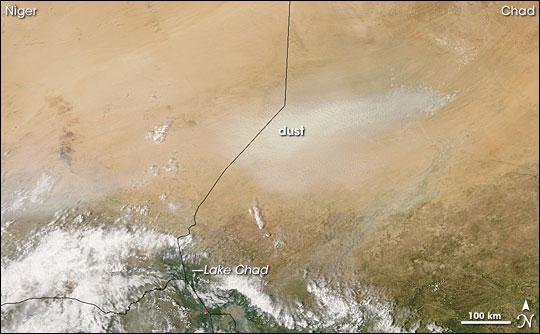 Bodele Depression Dust Storm