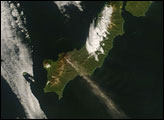 Plume from Chikurachki Volcano