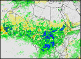Seasonal Rain Floods the Sahel