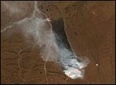 Fire on Alaska's North Slope