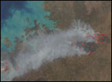 Bushfires in Northern Australia