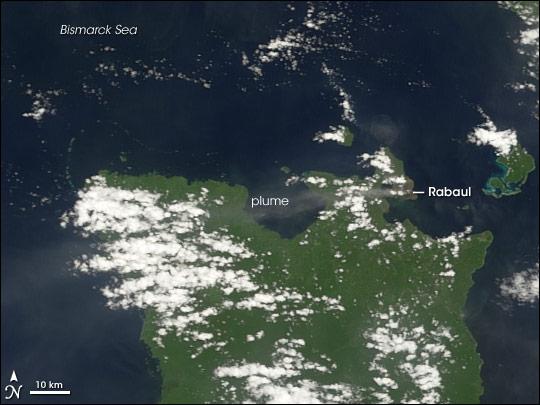Activity on Rabaul
