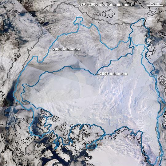 Record Sea Ice Minimum