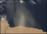 Dust Storm in Egypt