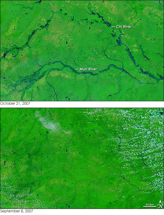 Seasonal Floods in Thailand